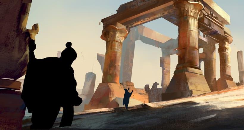 Mi Proyecto del curso:   Concept art para videojuegos AAA 11