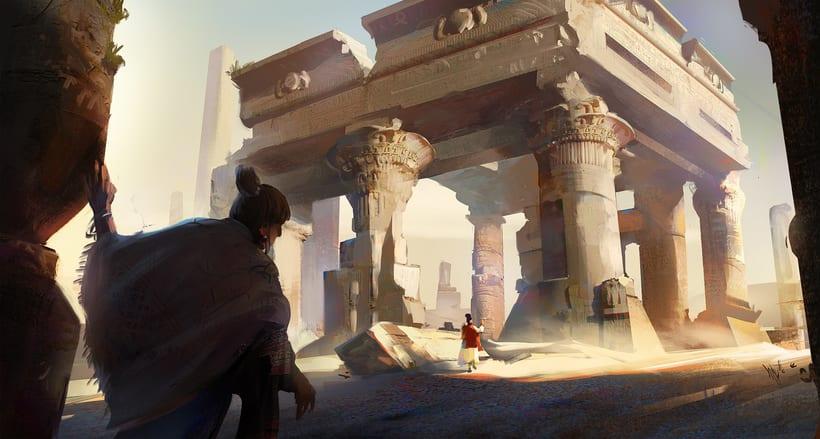 Mi Proyecto del curso:   Concept art para videojuegos AAA 13