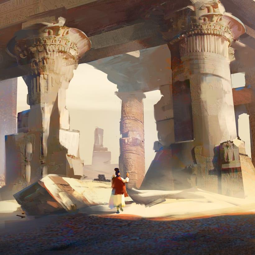 Mi Proyecto del curso:   Concept art para videojuegos AAA 16