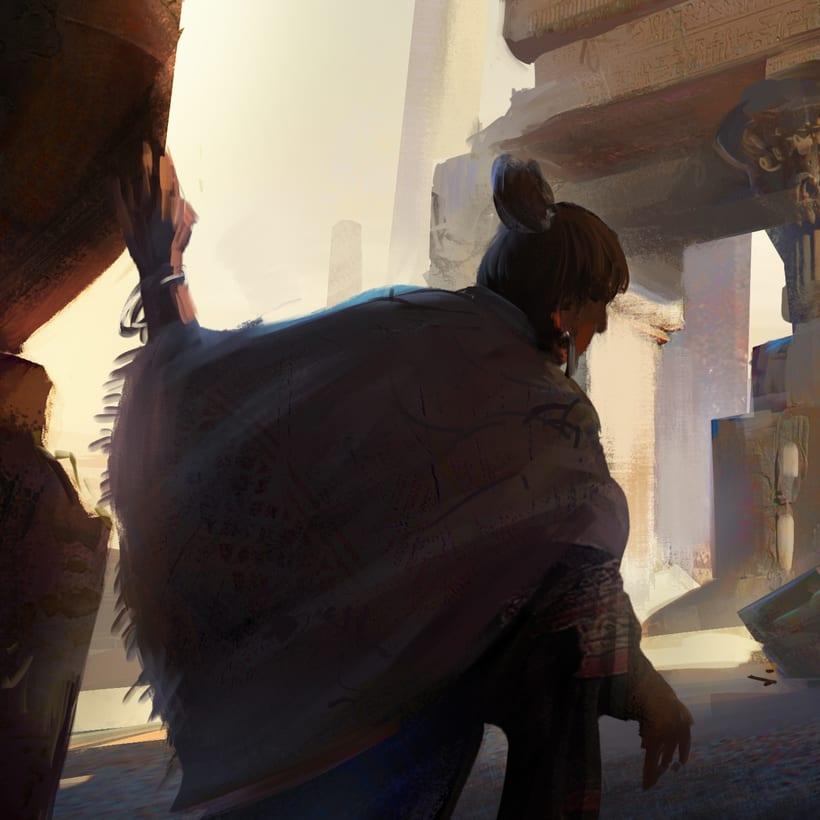 Mi Proyecto del curso:   Concept art para videojuegos AAA 15