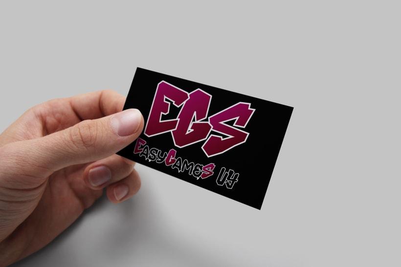 Easy Games UY - Diseño de logo y sitio web  4