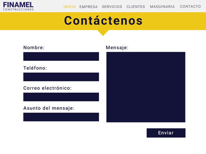 FINAMEL - Maquetación web y celular 5