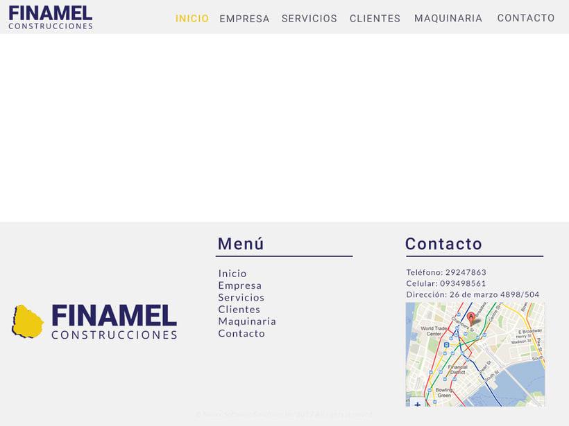 FINAMEL - Maquetación web y celular 6