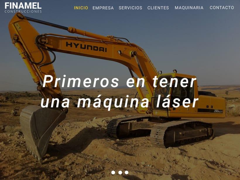 FINAMEL - Maquetación web y celular 0