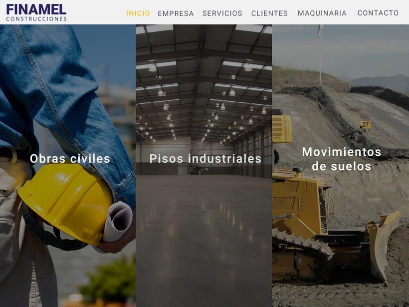 FINAMEL - Maquetación web y celular 2