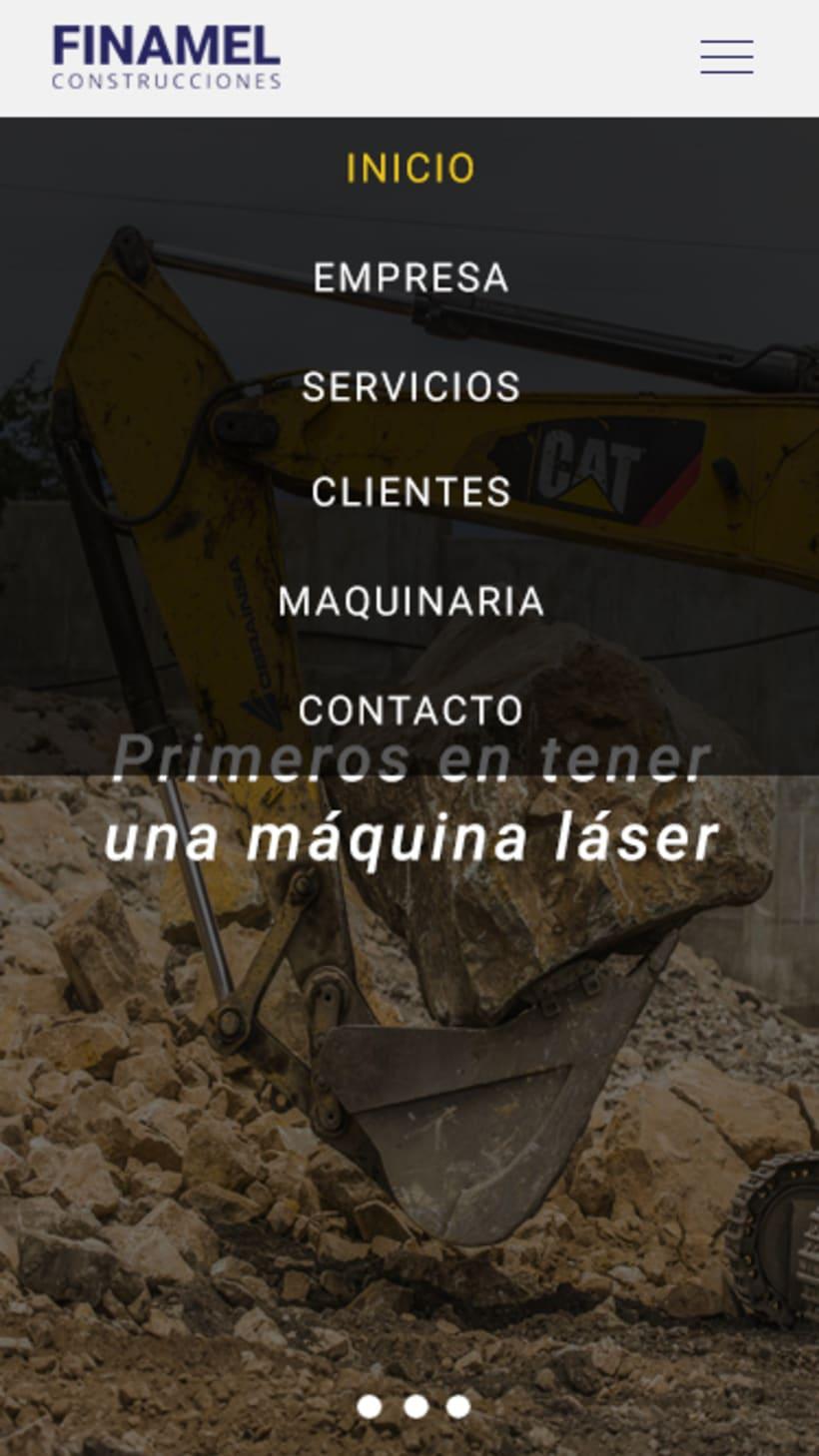 FINAMEL - Maquetación web y celular 7