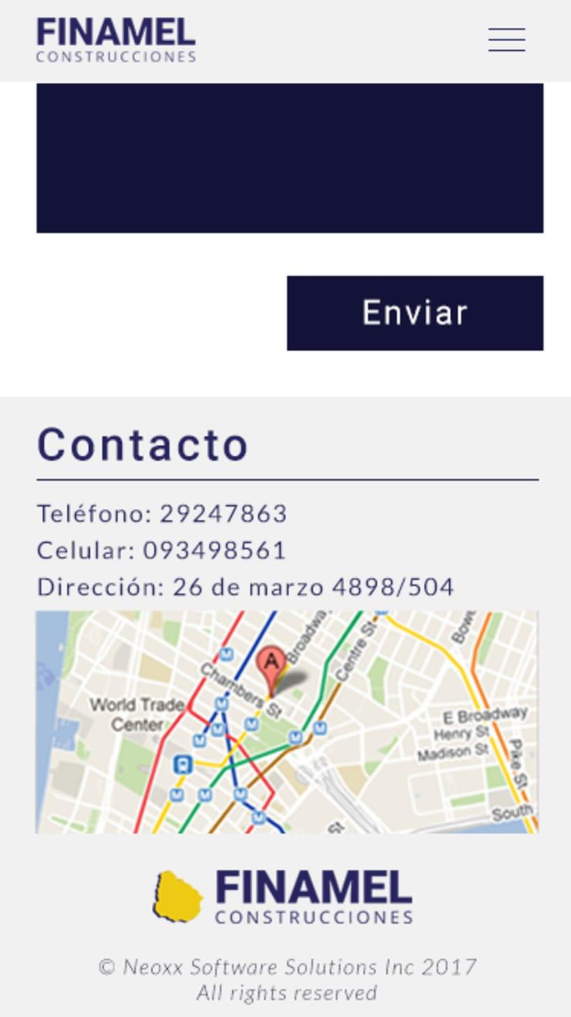 FINAMEL - Maquetación web y celular 16