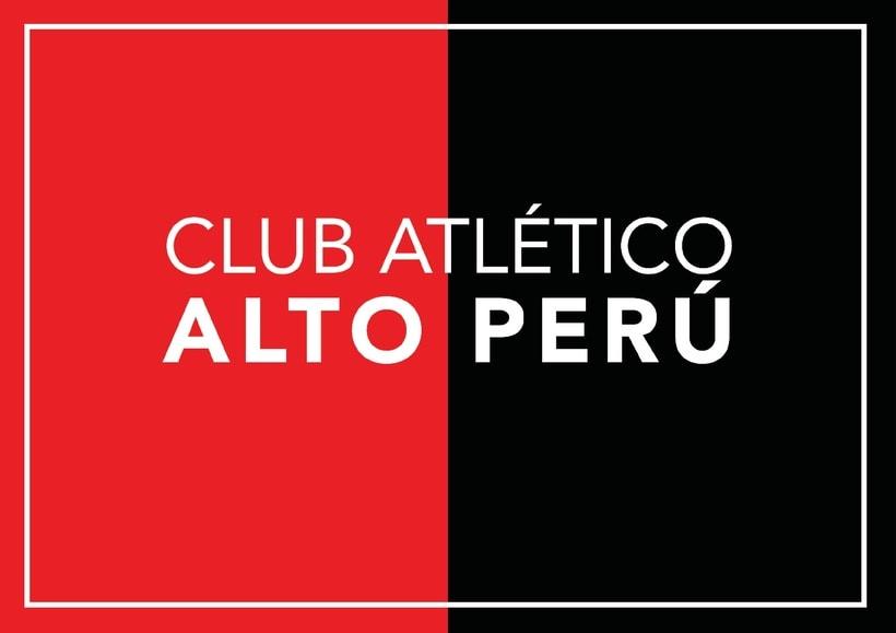 C. A. Alto Perú - Rediseño de escudo 0