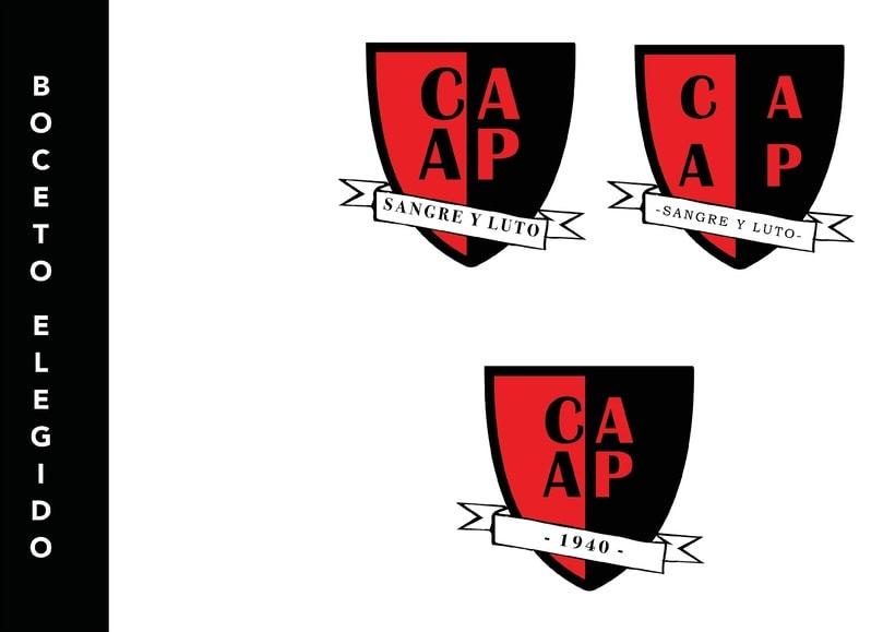 C. A. Alto Perú - Rediseño de escudo 6
