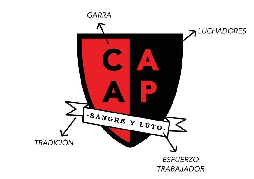 C. A. Alto Perú - Rediseño de escudo 10
