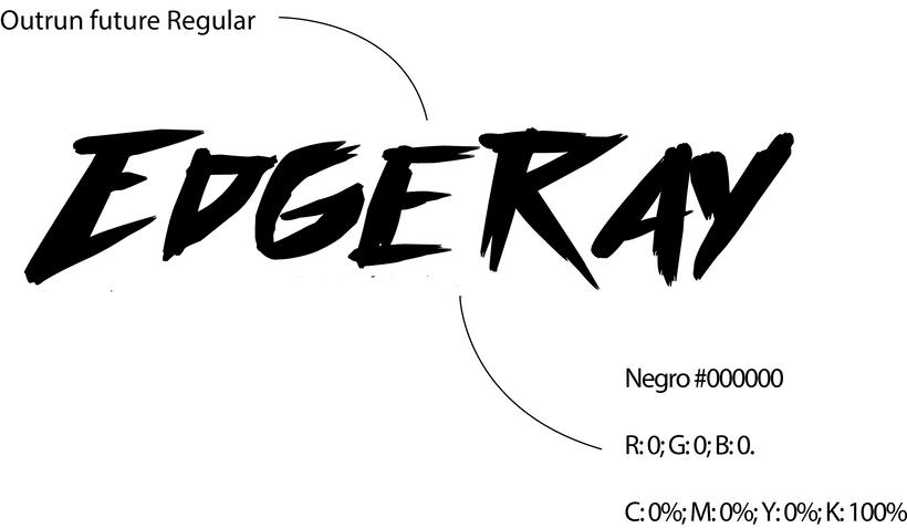 Edgeray - Diseño de logo 1