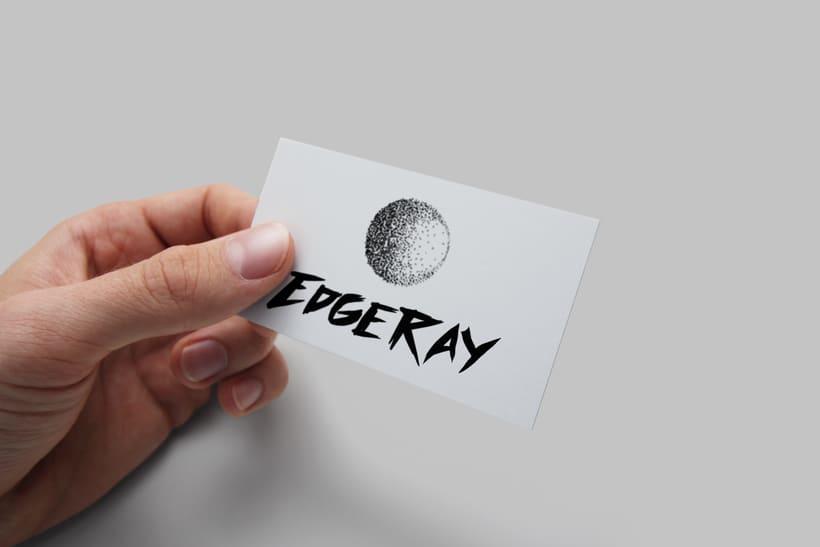 Edgeray - Diseño de logo 2