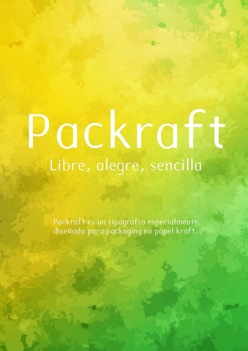 Packraft - Diseño tipografía -1