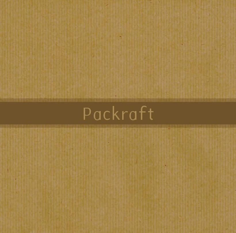 Packraft - Diseño tipografía 0