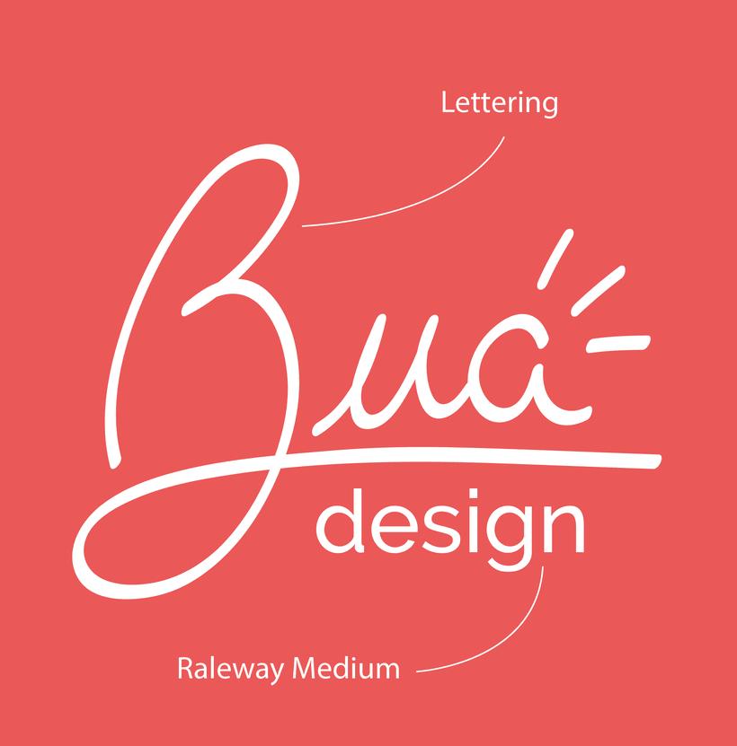 Bua - Diseño de logotipo 1