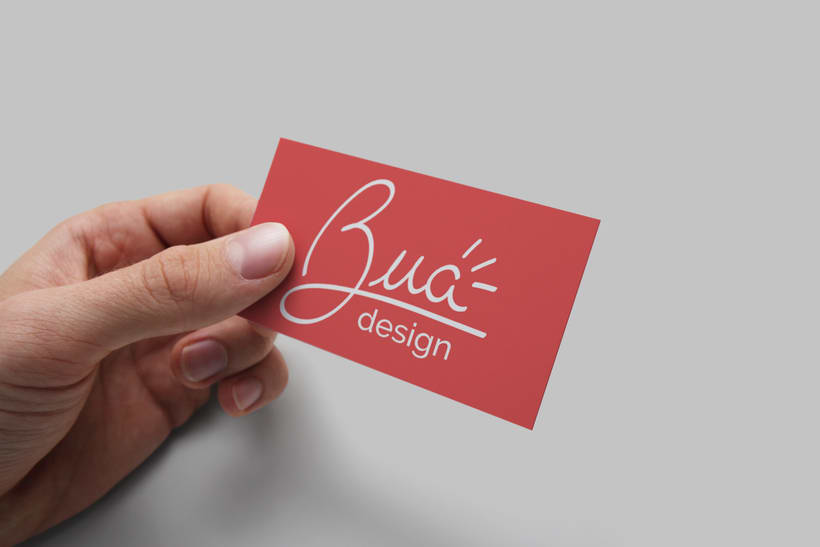 Bua - Diseño de logotipo 3