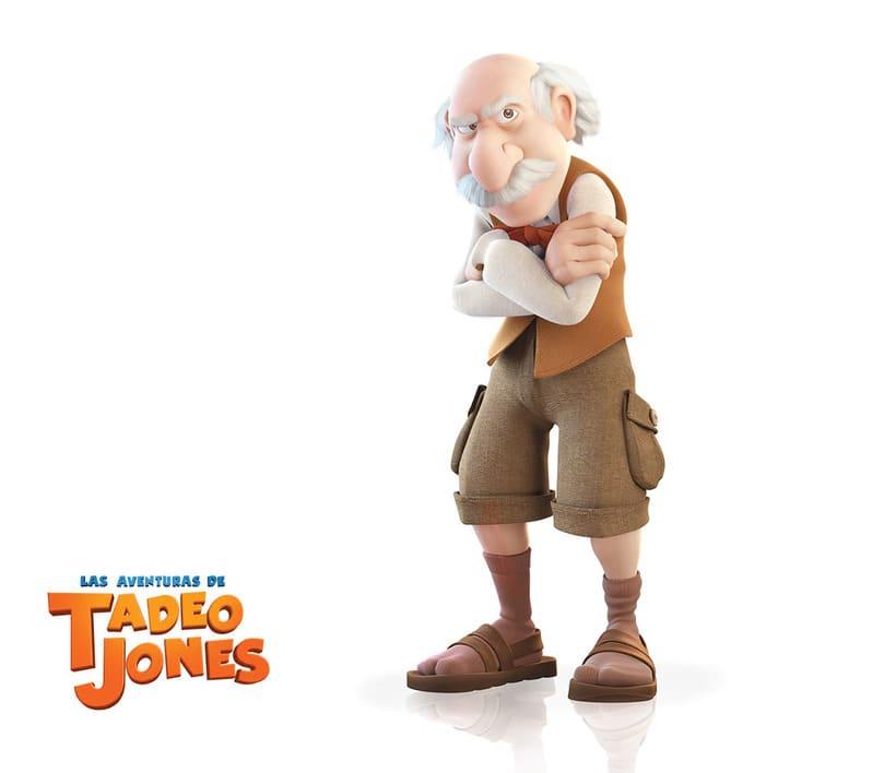 Las Aventuras de Tadeo Jones (2012)  6