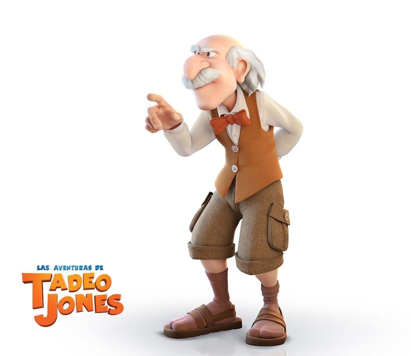 Las Aventuras de Tadeo Jones (2012)  5