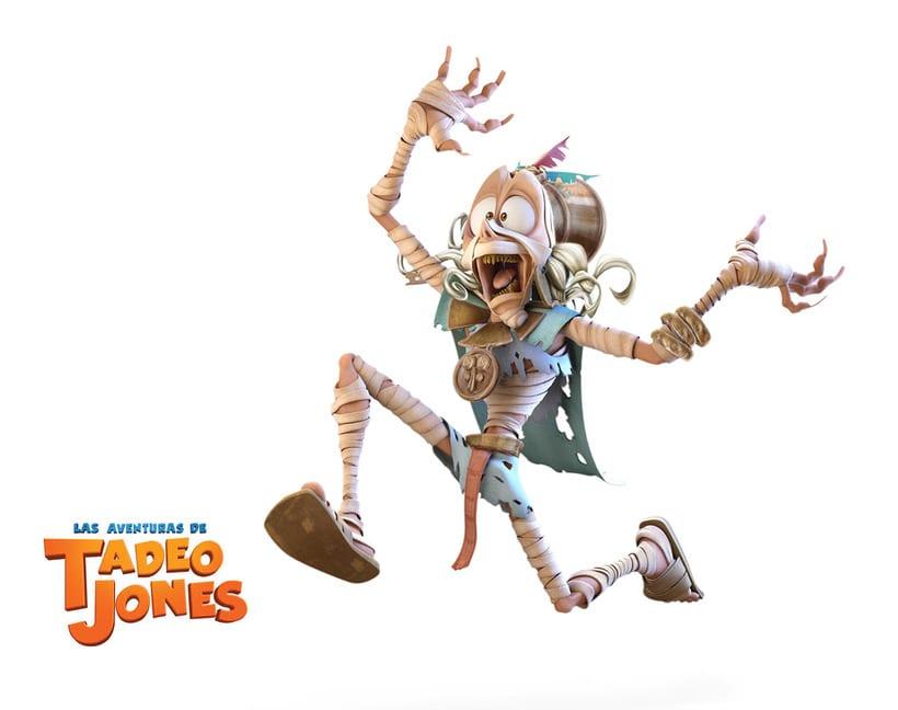 Las Aventuras de Tadeo Jones (2012)  2
