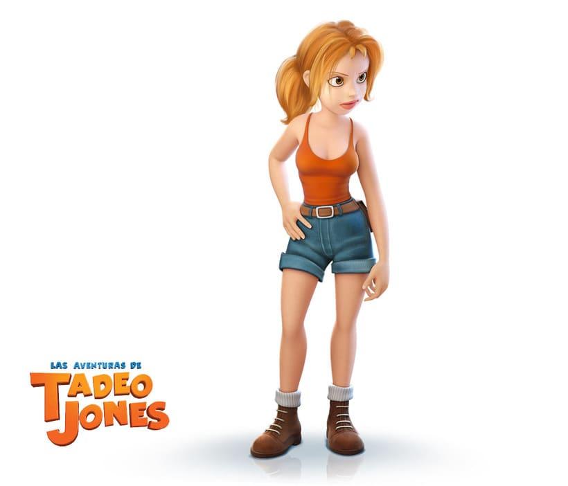 Las Aventuras de Tadeo Jones (2012)  3