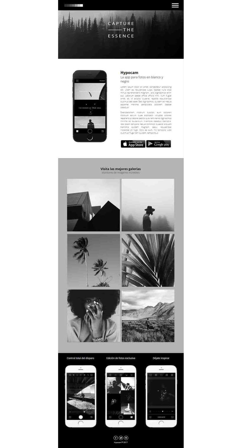 Diseño de Web Responsive - HYPOCAM 4