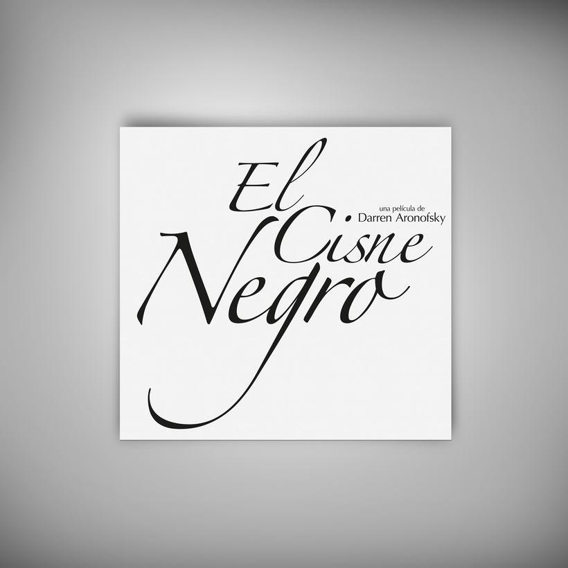 "Afiche ""El Cisne Negro"" 2"