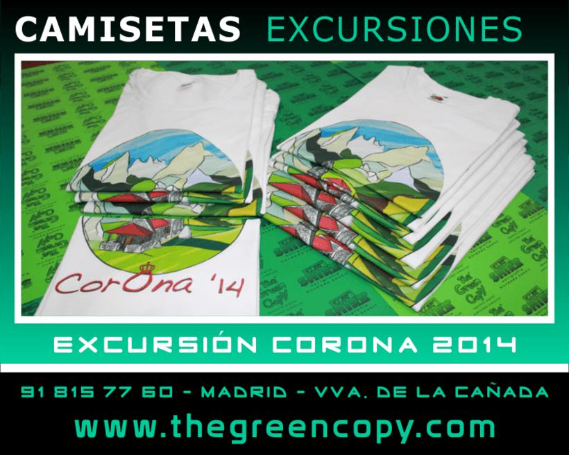 Impresión de Camisetas para Viajes Fin de Curso de Colegios 1