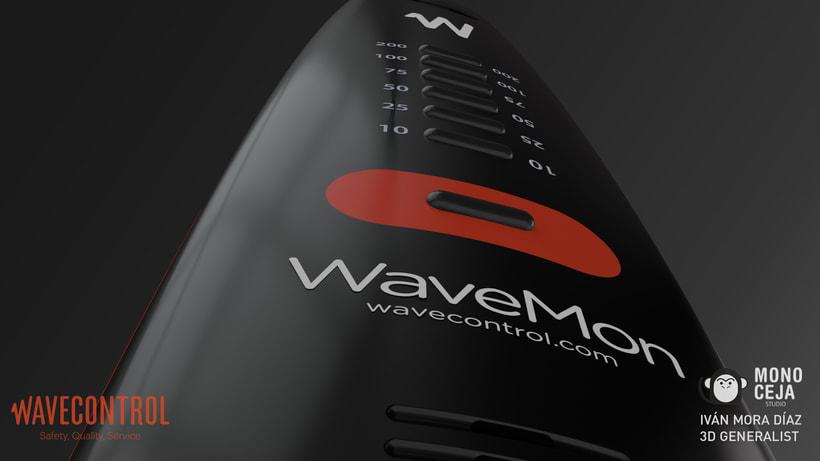 Wavemon Broadband © - 3D Product Design 2