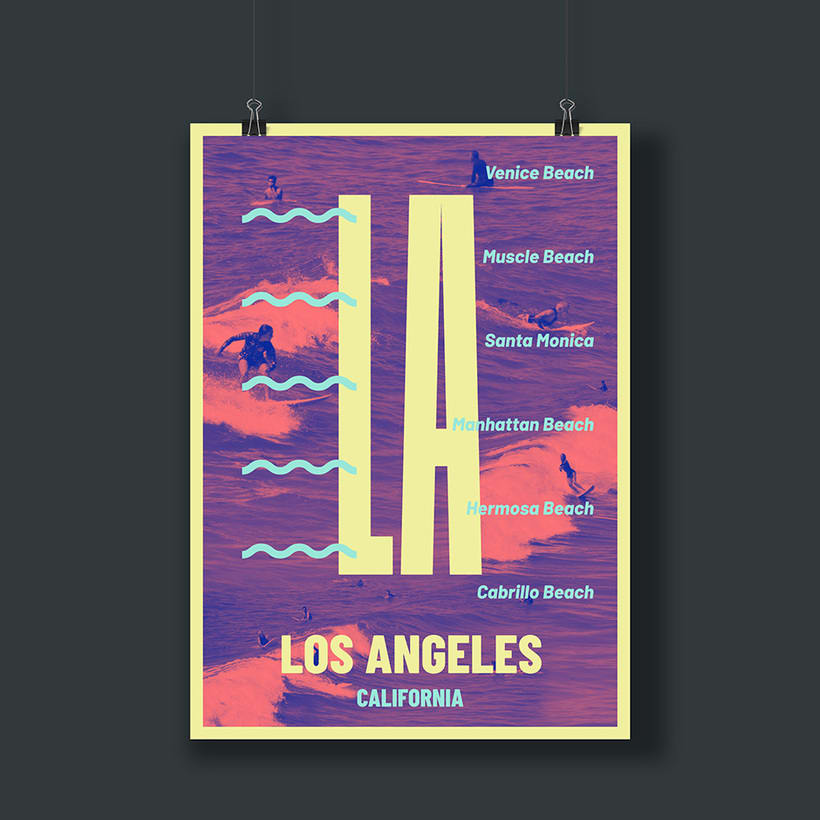 LOS ANGELES POSTERS -1