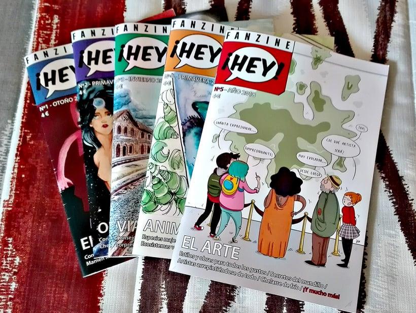 Fanzine ¡Hey! (2014-actualidad) 1