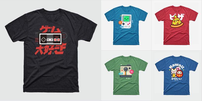 Diseños para camisetas 4