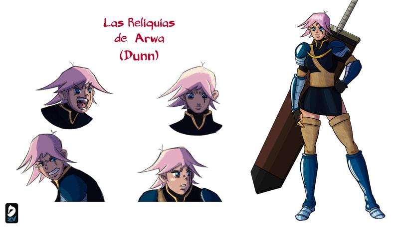Dunn. Character Design -1