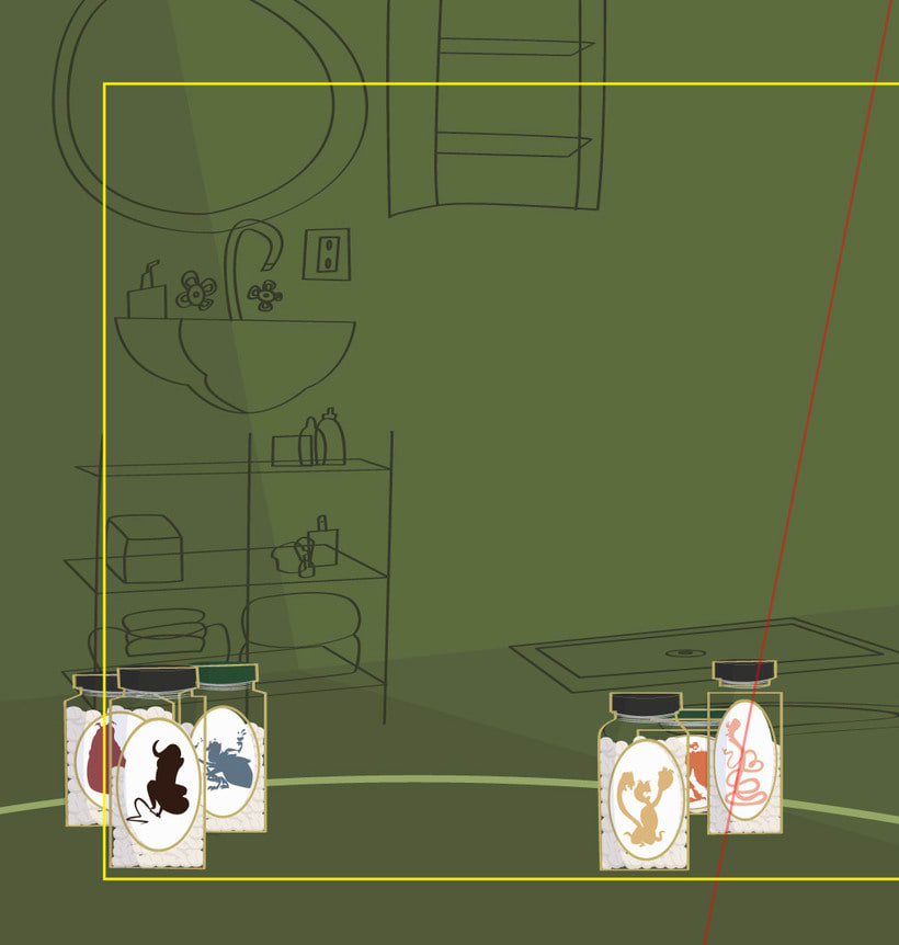 Backgroun Design for HAMPA STUDIO 6
