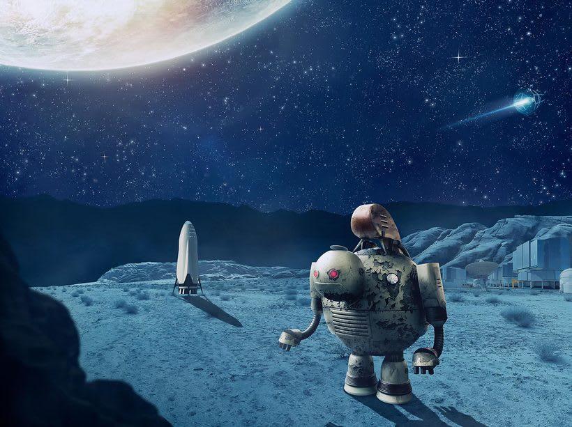 Space Robot 1