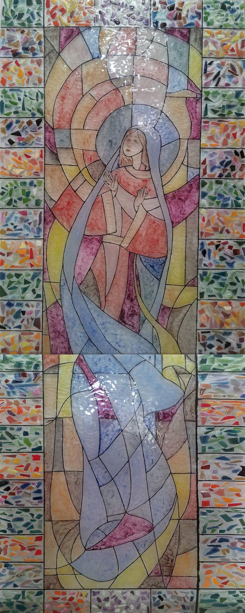 Vidrieras Iglesia Parroquial San Lorenzo Martir 5