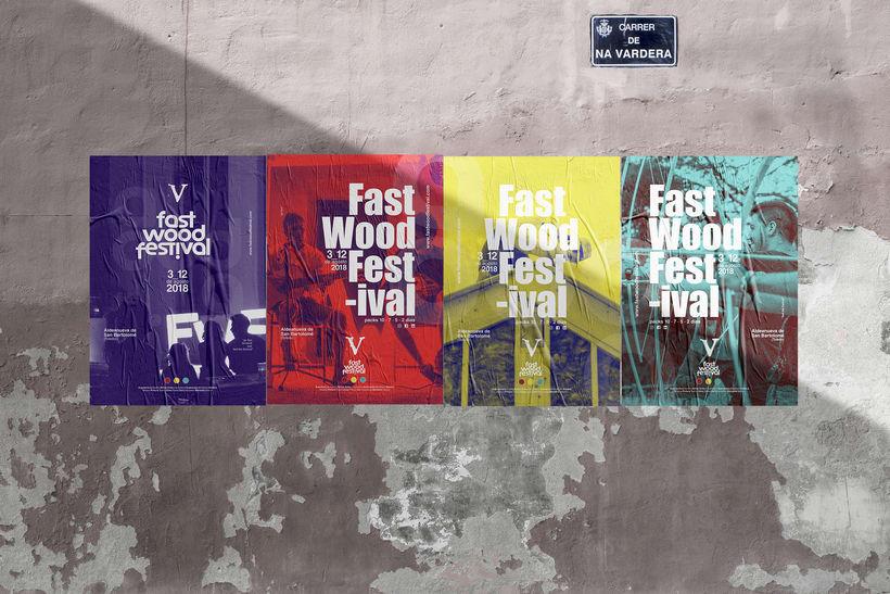 Cartelería V Fast Wood FestivalNuevo proyecto -1