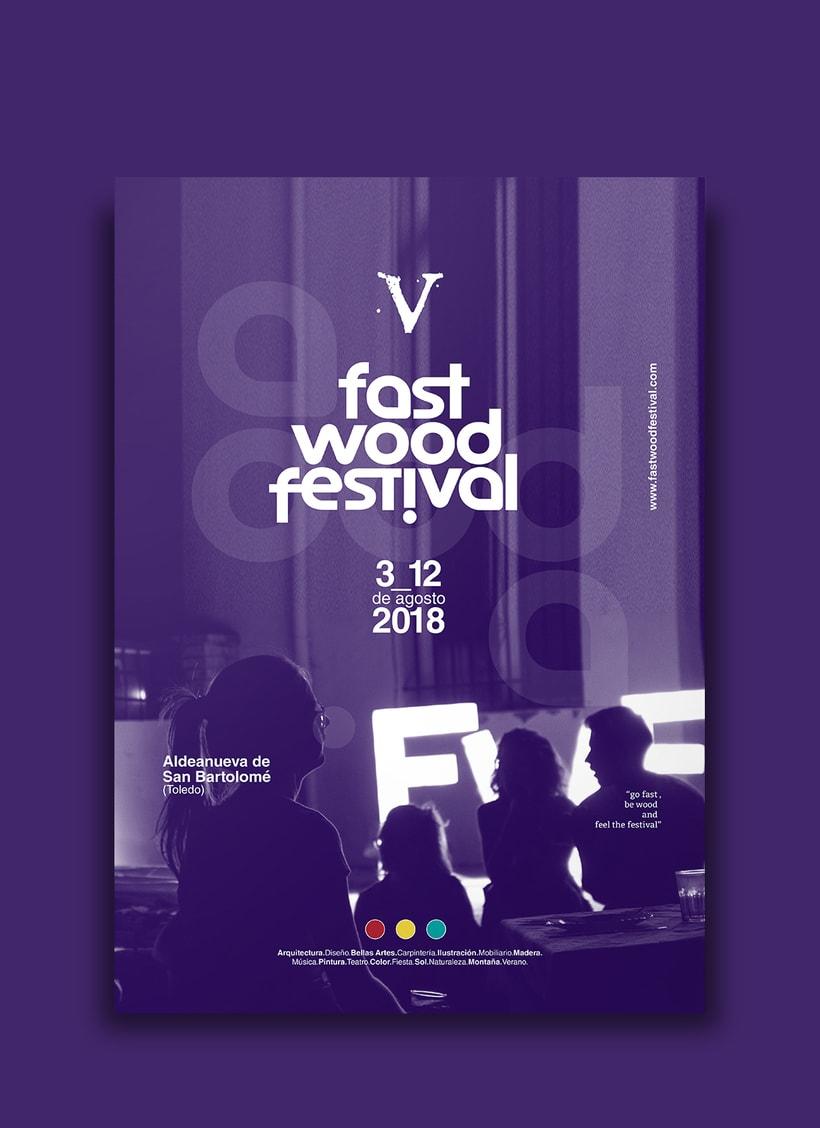 Cartelería V Fast Wood FestivalNuevo proyecto 0