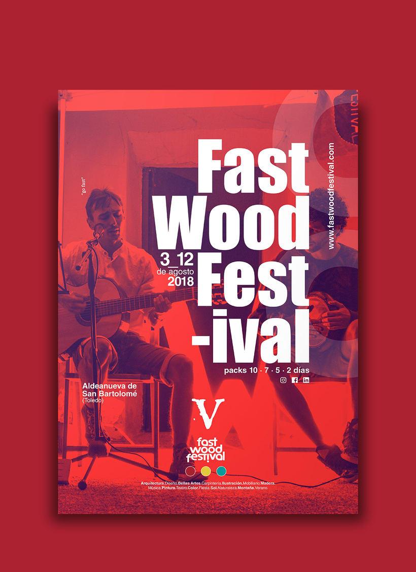 Cartelería V Fast Wood FestivalNuevo proyecto 1