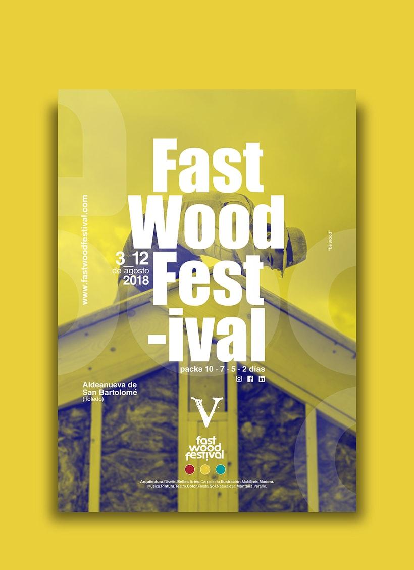 Cartelería V Fast Wood FestivalNuevo proyecto 2