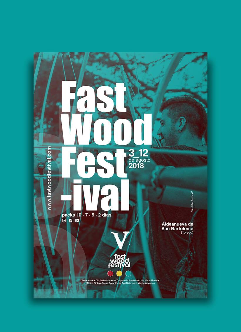 Cartelería V Fast Wood FestivalNuevo proyecto 3