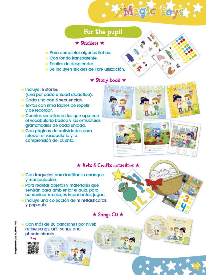 Magic toys - método didáctico infantil 5