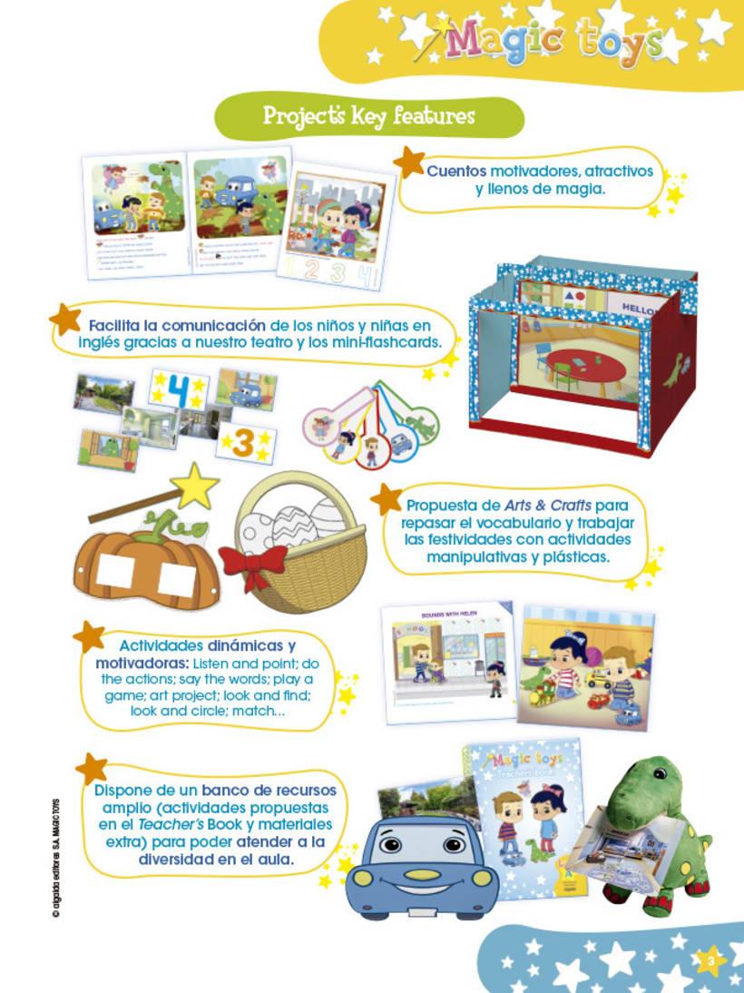 Magic toys - método didáctico infantil 3