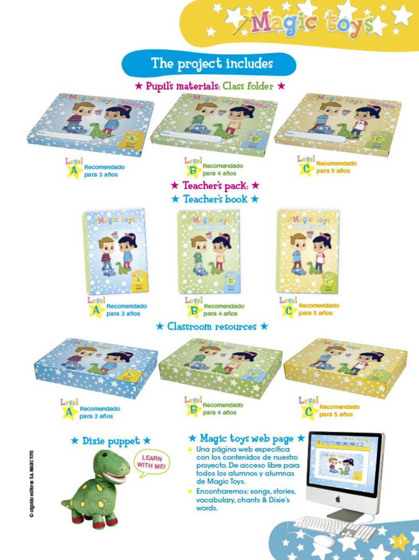 Magic toys - método didáctico infantil 1