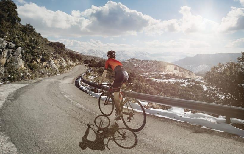 Cycling -  Fotomontaje digital -1