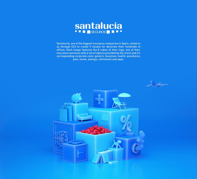 Santalucia Cubes -1