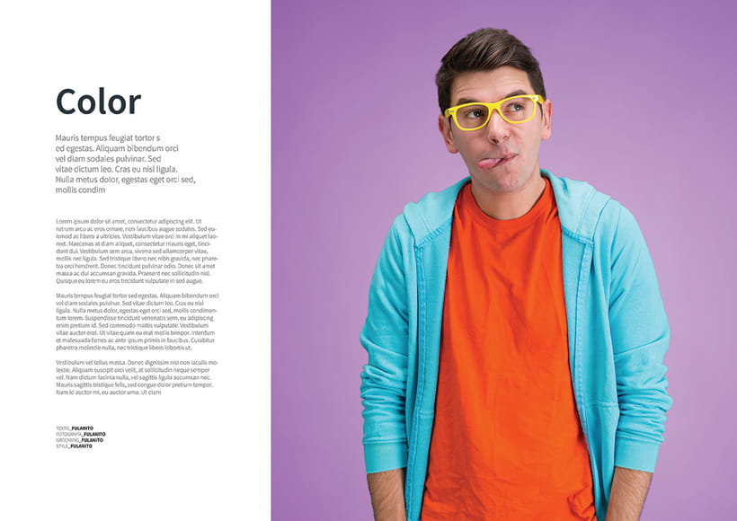 Mi Proyecto del curso: Fotografia editorial para revistas 0