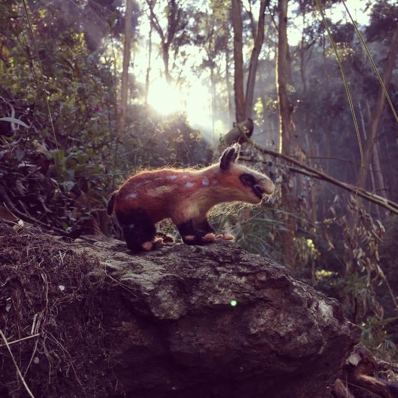 Danta en el bosque -1