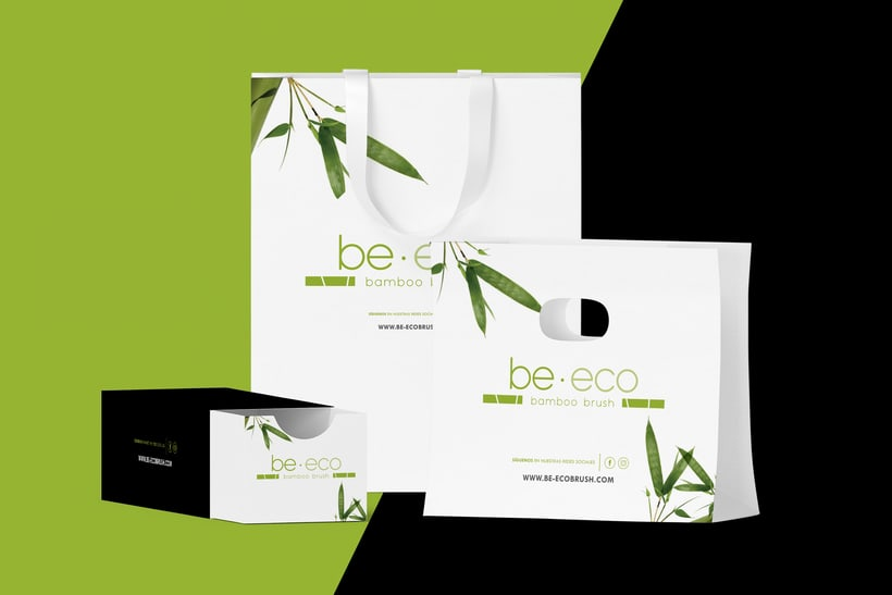 Beeco Brush // Identidad Visual, Social Media + 3