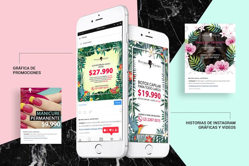Studio Valdés // Diseño, Social Media y + 6