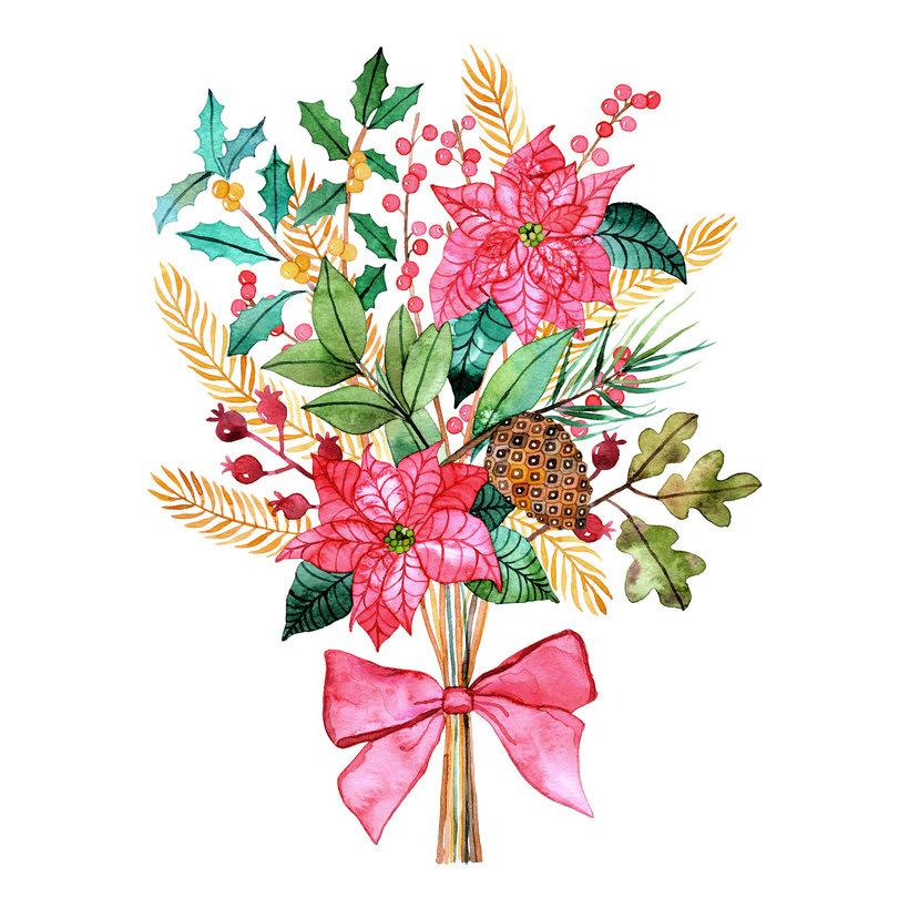 Ilustraciones botánicas en acuarela 6